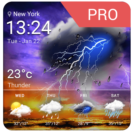 Weather (mobi infolife ezweather widget weather location app