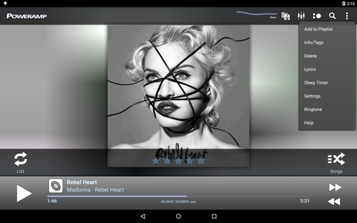 Poweramp (com maxmpz audioplayer) 2 0 10 build 860589 x86