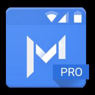 Material Status Bar Pro