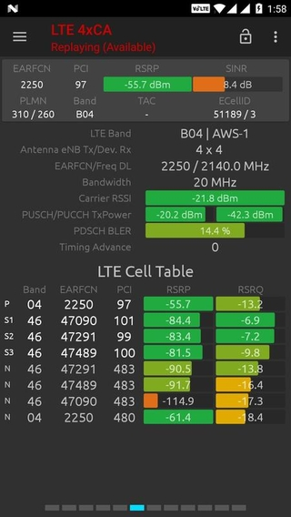 Network Signal Guru (com qtrun QuickTest) 1 2 3 APK Bixar - Android