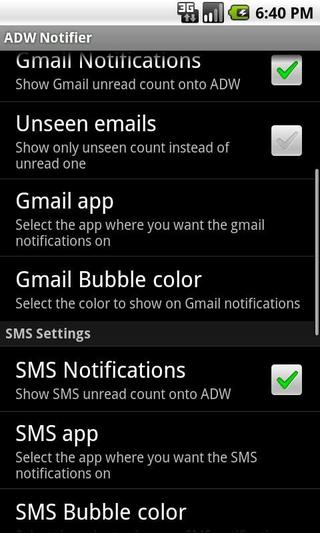 ADW Notifier (org adw launcher notifications) adwnotifier